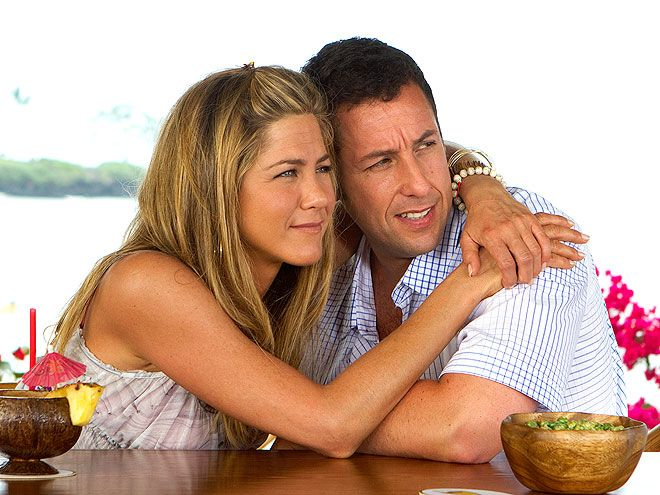 Adam Sandler, Jennifer Aniston 2011