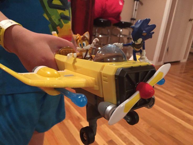 Sonic Boom Tails Plane