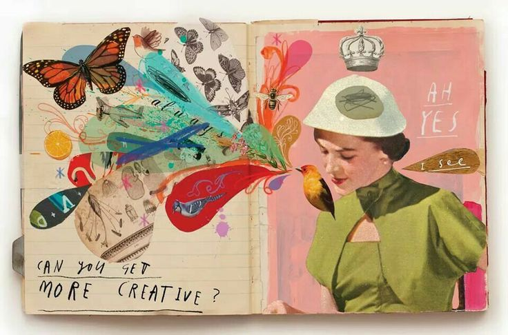 Oliver jeffers #art #journal #collage
