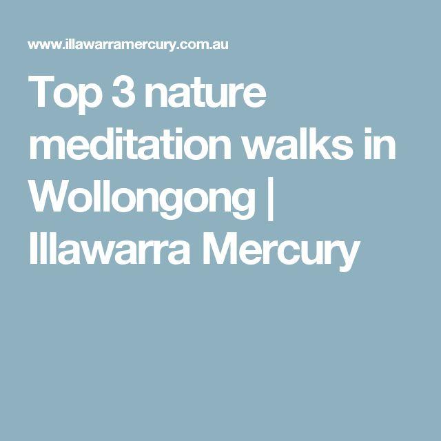 Top 3nature meditation walks in Wollongong   Illawarra Mercury