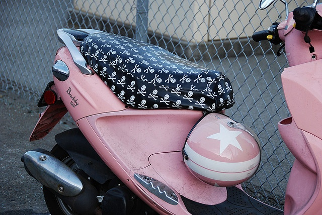Pink Moped by mcsmith86, via Flickr