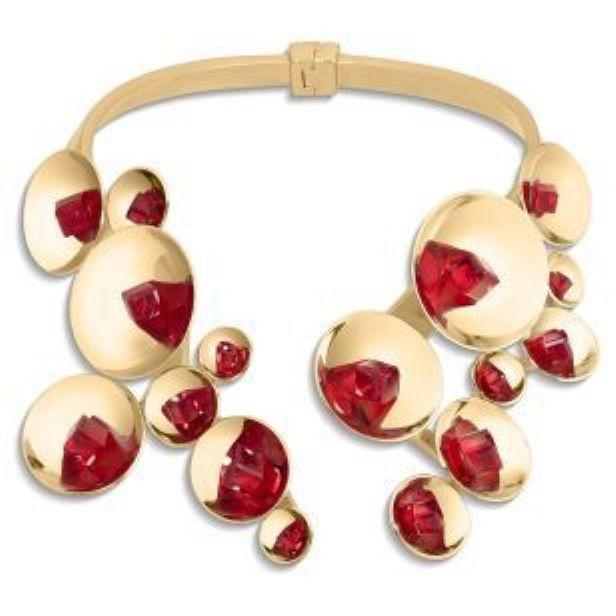 Gorący neckpiece, Atelier Swarovski przez Fredrikson Stallard - Nowy Swarovski Biżuteria Outlet   The Ultimate Cut Kryształ 90% taniej