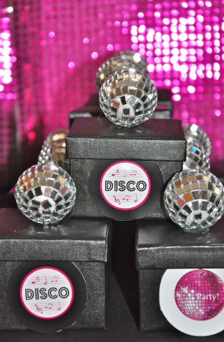 Disco Ball Party Decorations 170 Best Disco Party Images On Pinterest  Birthdays Birthday