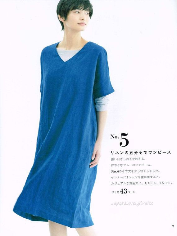 Comfortable Straight Stitch Clothing Yoshiko Tsukiori