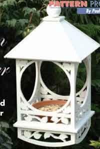 Victorian bird feeder...free PDF plan