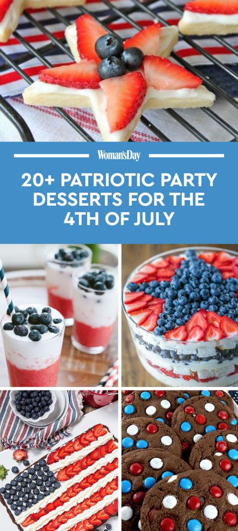 These tasty treats are the sweetest ways to celebrate America's birthday.