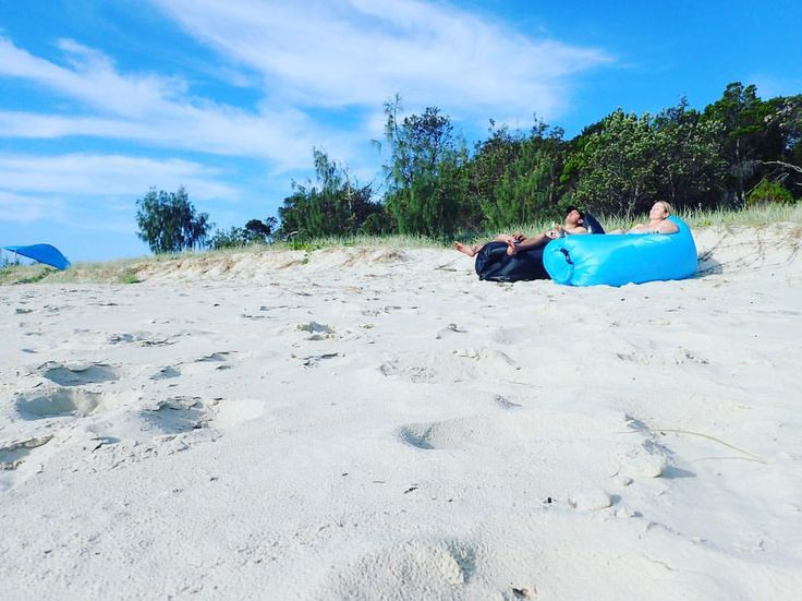 Moreton Island, Queensland - Take a moment and chill!