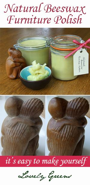 Make your own completely natural beeswax furniture polish at home. It's simple, quick, inexpensive, and best of all good for you and your home.