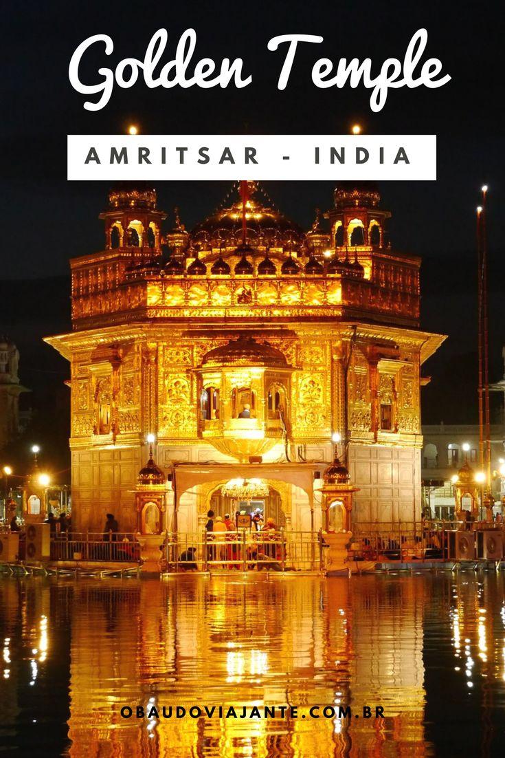 Conheça o fantástico Golden Temple em Amritsar na Índia.  Saiba porquê visitar esse templo indiano é uma das experiências mais transformadoras de uma viagem à Índia.  Toda a beleza da arquitetura indiana se misturam com a força da fé do povo Sikh.