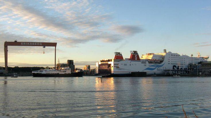 Stena Germanica III, die Fähre von Kiel nach Göteborg