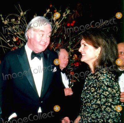 Jackie Kennedy and Sen. Patrick Moynihan
