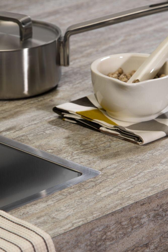 DecorTop werkbladen van extra dik laminaat in hout- & steenrepro's #keuken