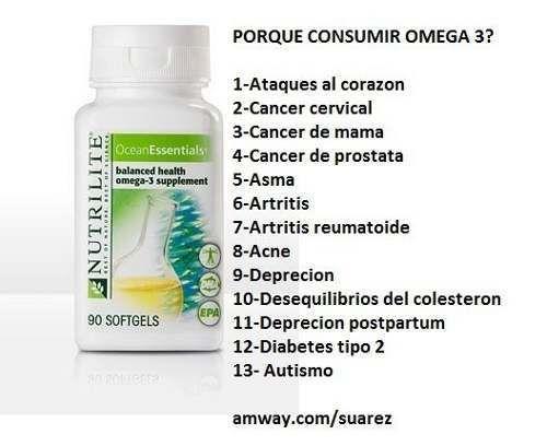 El mejor Omega 3 del mercado. Best Omega 3. Nutrilite is one of the most sellings online in USA
