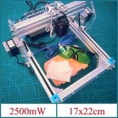 2.5W Desktop DIY Violet Laser Engraver Engraving Machine Picture CNC Printer Assembling Kits