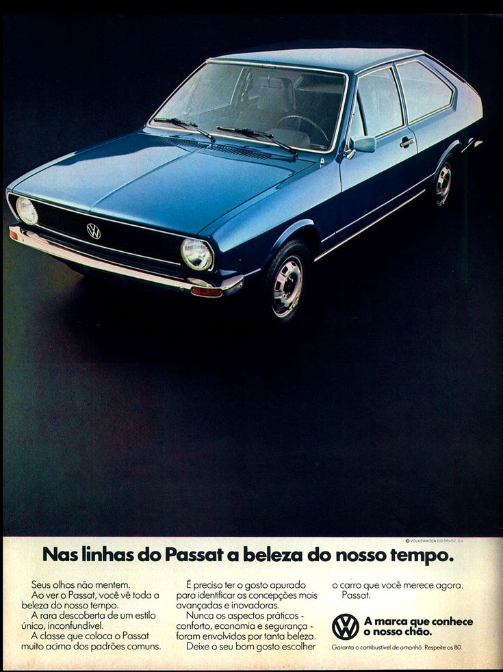1980 Brazilian VW Passat                                                                                                                                                     Mais