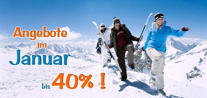 Lastminute Skiurlaub • günstig in den Skiurlaub