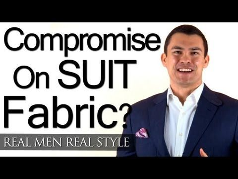 When To Compromise On Suit Fabric - Buying Mens Suits With Little Money - Focus On Fit First