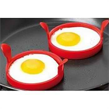 Silicone Fried Frier Oven Poacher Pancake Egg Poach Ring Mould Kitchen