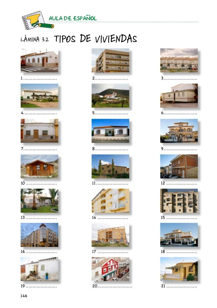 41 best vivienda images on pinterest types of learning for Tipos de casas