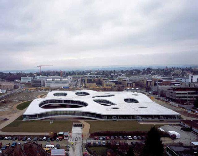 Kazuyo Sejima & Ryue Nishizawa, The Rolex Learning Center, Ecole Polytechnique Federale, Lausanne, Switzerland, 2009