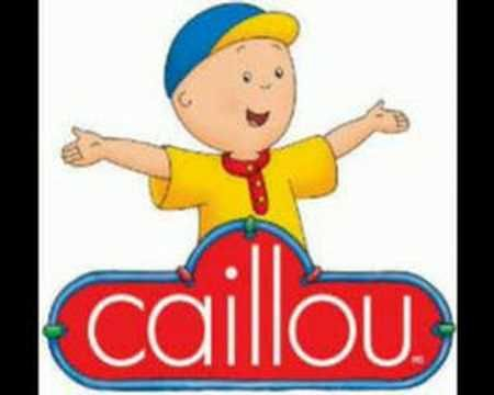 Caillou theme song in French