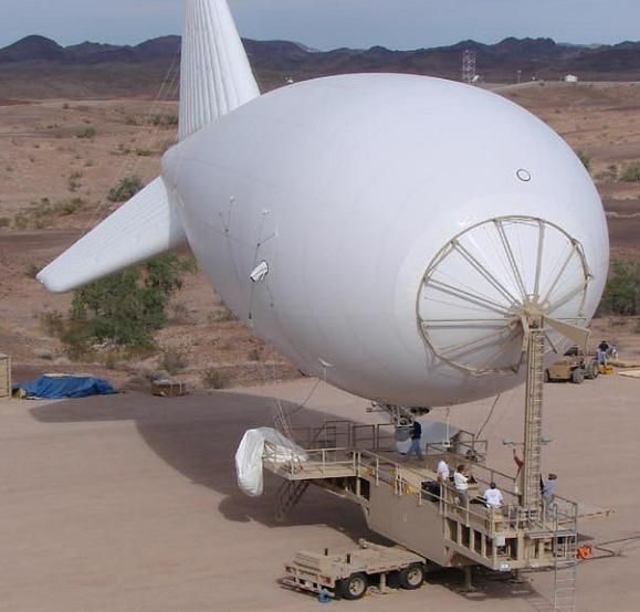 The 74K Aerostat, as used in the PTDS System. Credit: Lockheed