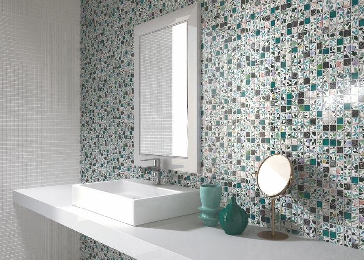 154 best Recycled Glass Tiles images on Pinterest Beverages