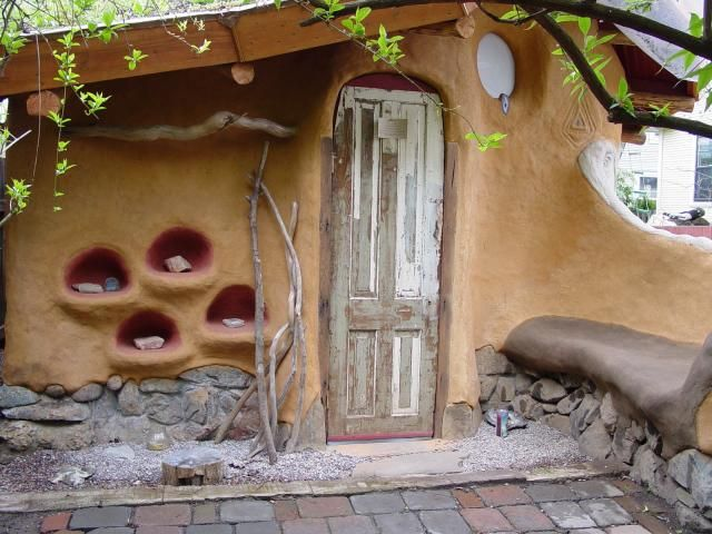 A cob house - guaranteed to be one of a kind! Plus cost-effective and energy efficient.