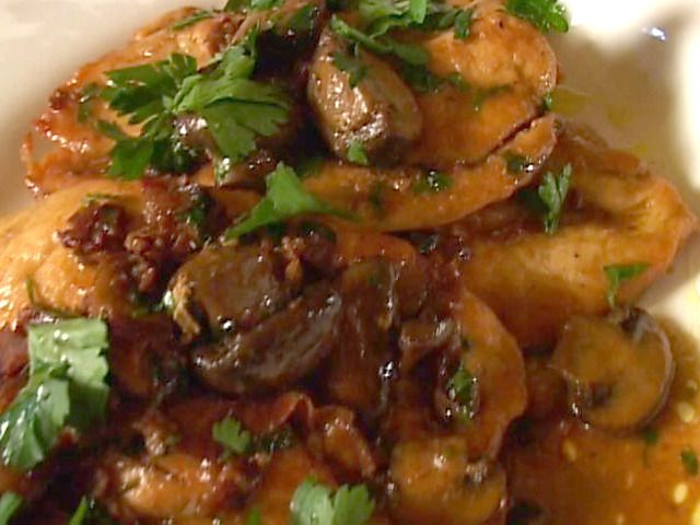 Chicken Marsala Recipe : Tyler Florence : Food Network