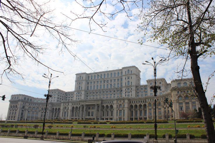 The Palace of the Parliament (Romanian: Palatul Parlamentului), Bucharest