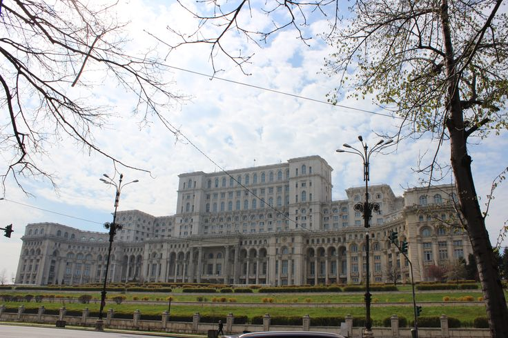 The Palace of the Parliament (Romanian: Palatul Parlamentului), Bucharest