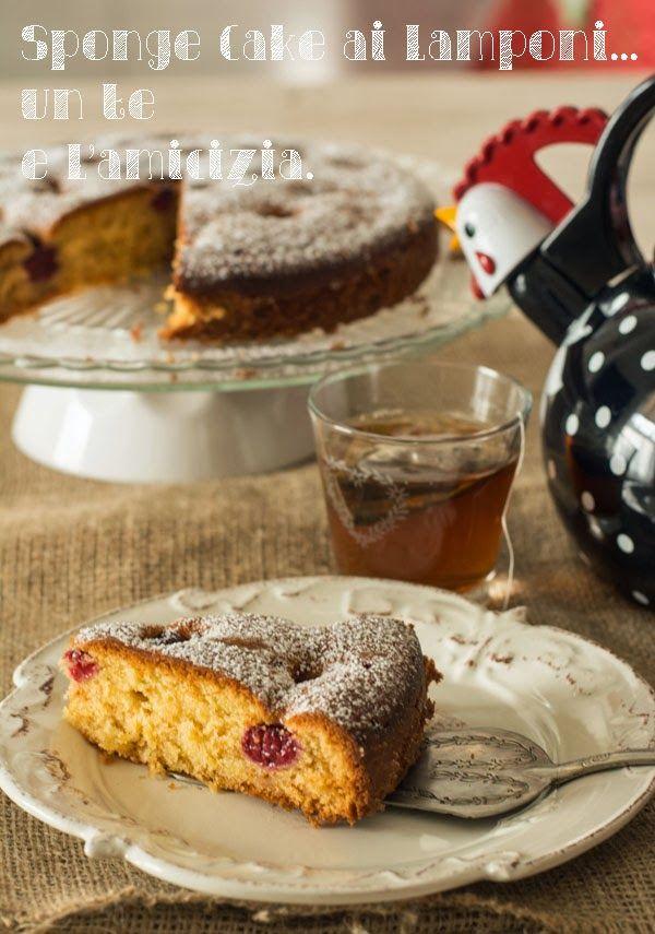 La barchetta di carta di zucchero: Spongecake ai lamponi per... UnLampoNelCuore - #unlamponelcuore