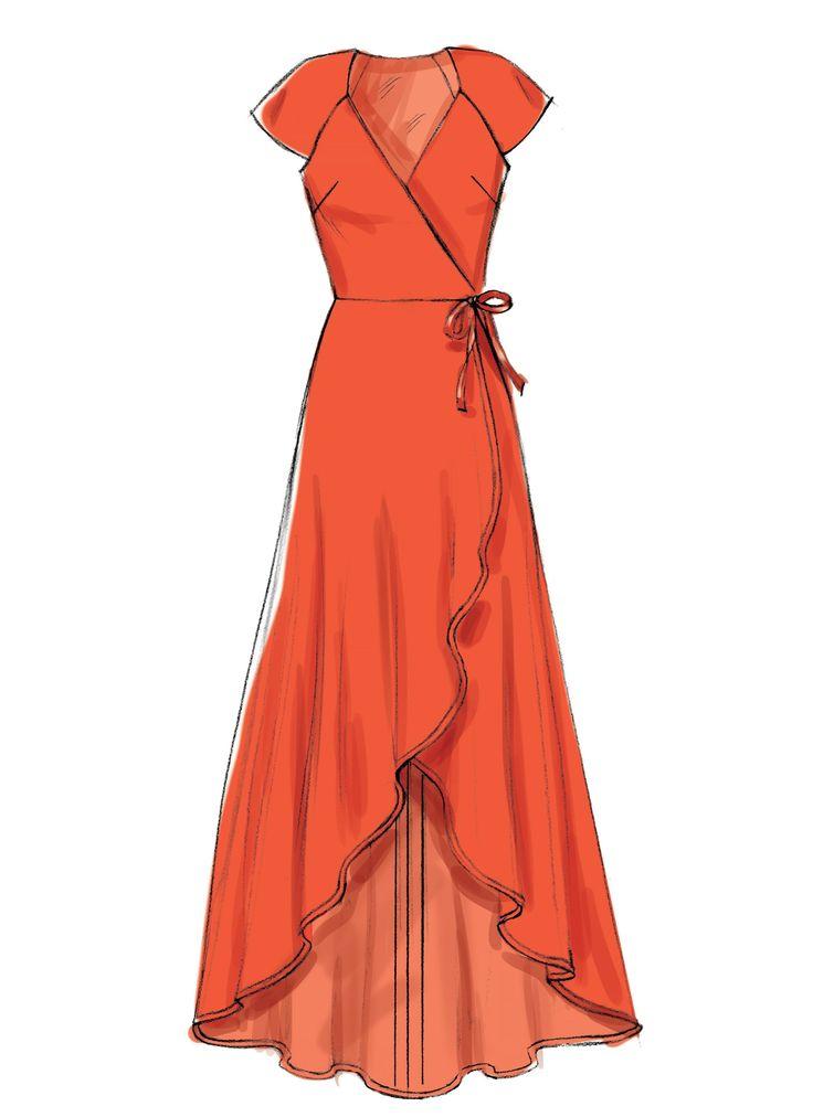 M7745 Misses' Dresses Sewing Pattern
