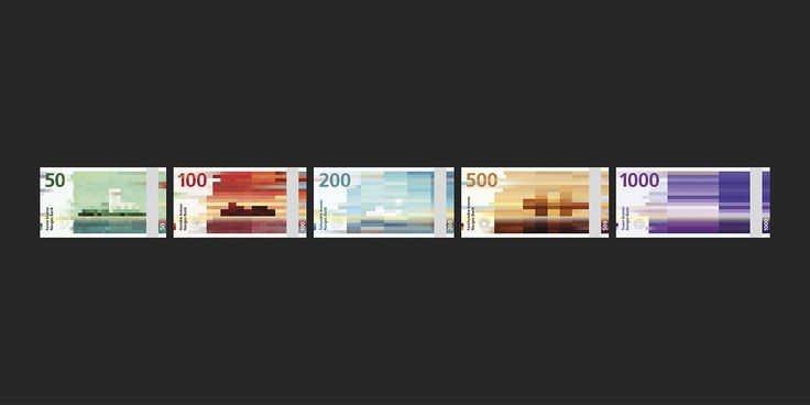 Norway's New Banknotes on Behance