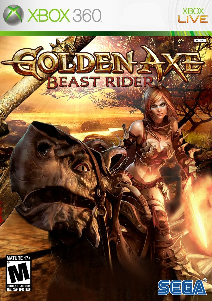 Golden Axe - Beast Rider