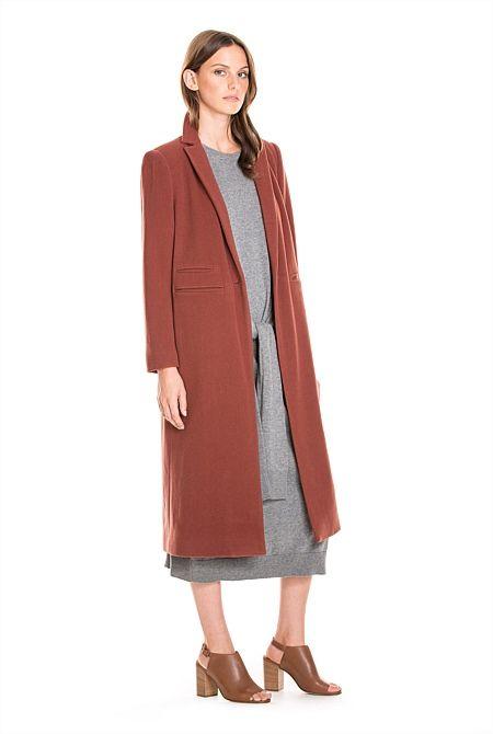 Soft Longline Coat