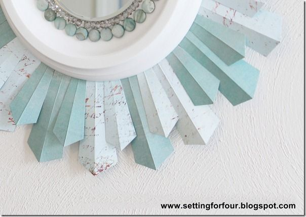 Tutorial for Sunburst Mirror from Setting for Four