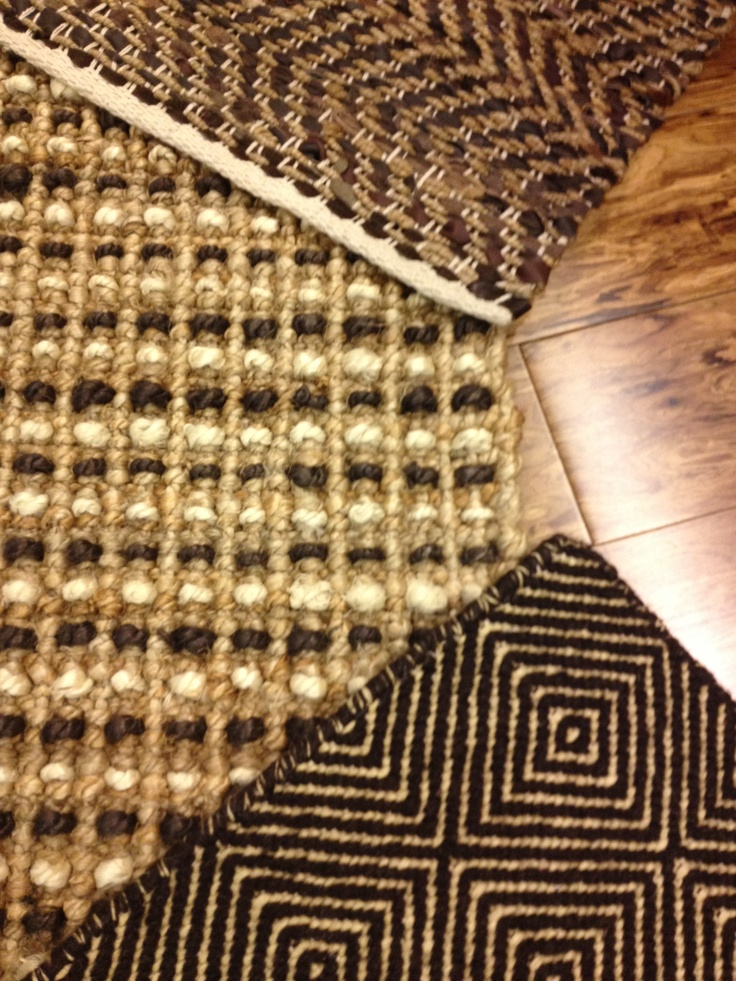 Natural Flatweave Rug Options Available At Our Showroom
