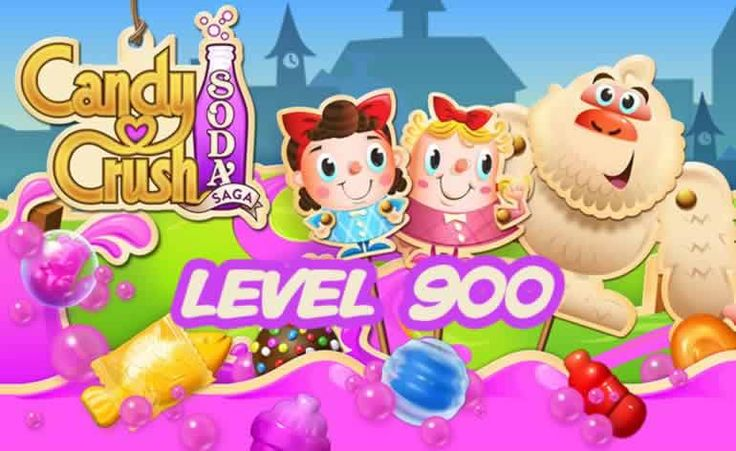 Candy Crush Soda Saga Level 900