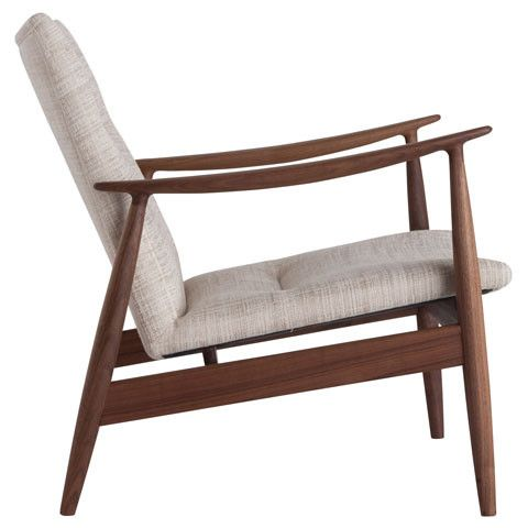 Rivage (Fabric) A Slanted Seat That You Can Sink Into. Available At Kozai
