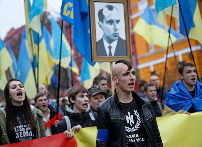 With Oleh Makhnitsky in the position of prosecutor-general of Ukraine, the Neo Nazi party also controls the judicial process