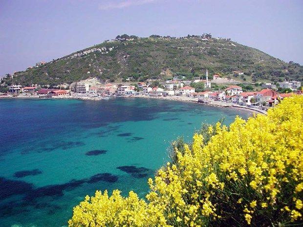 Akvaryum plaji, karaburun, Izmir, Turkey.