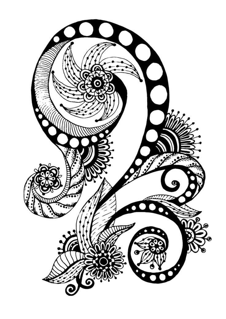 abstract coloring pages pinterest - photo#7