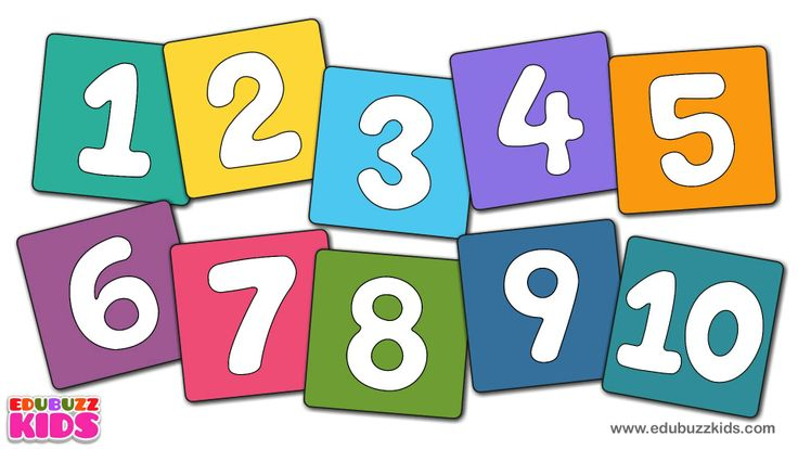 Numbers Song I Learn to Count Numbers 1 to 1