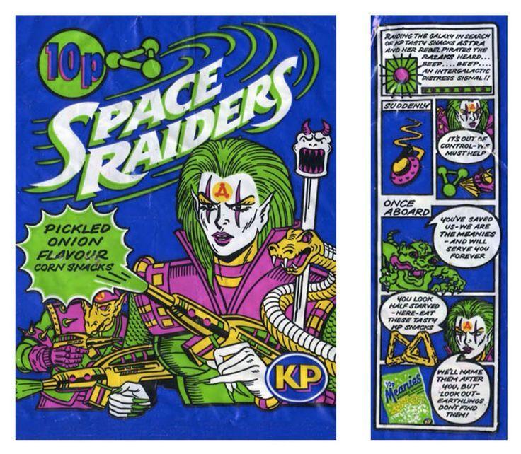 Space Raiders Crisps
