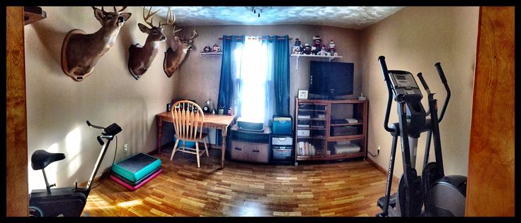 """This room makeover involved removing a full size pool table, large china closet, and large entertainment center with an outdated television set/video games, etc.  Then the room was repainted and repurposed.  I did NOT take any """"before"""" photos (tooooo embarrassing)!!!  But trust me, this is a vast improvement!"""