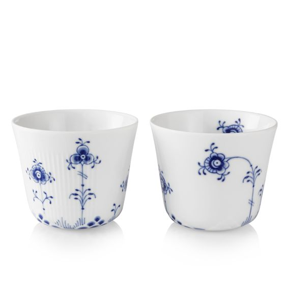 Royal Copenhagen Blue Elements Multi cups 25 cl, 2-pack