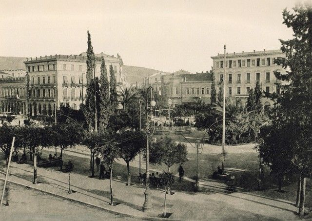 Η Ομόνοια το 1900