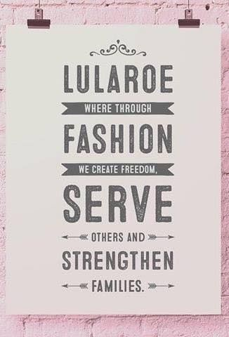 Curious about how to join LuLaRoe? Contact me, I'm happy to chat, no obligations.
