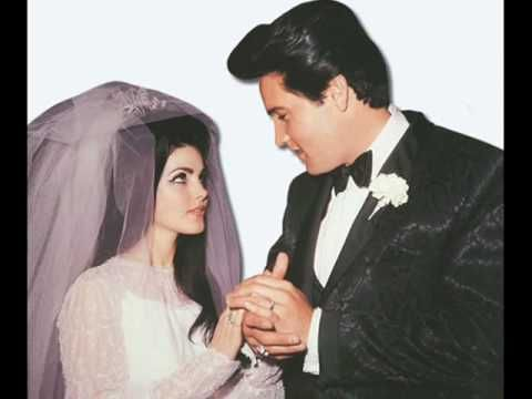 Elvis Presley - Always On My Mind with a photo montage of Priscilla and Elvis in happier times